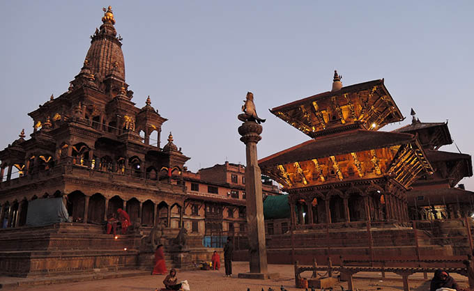 Patan and Bhaktapur Sightseeing