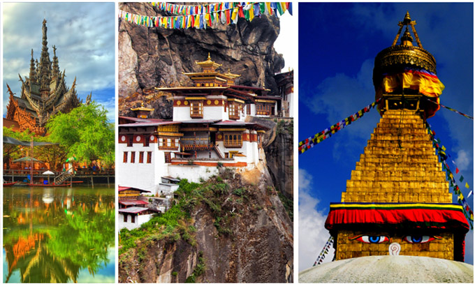 Thailand, Bhutan and Nepal Tour