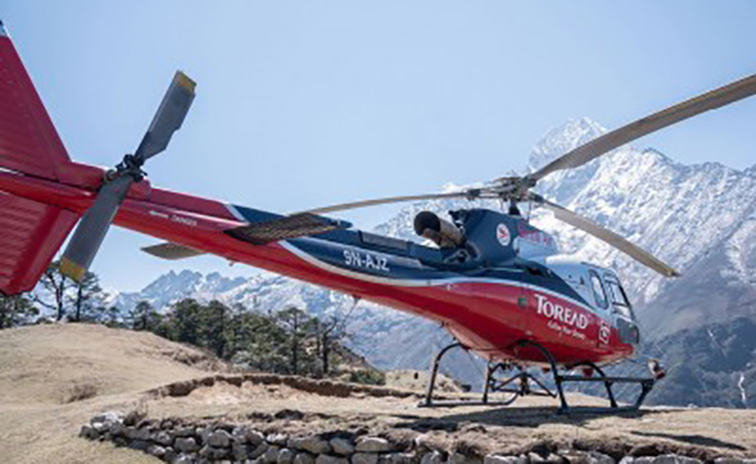 Everest Base Camp Short Trek Return by Helicopter