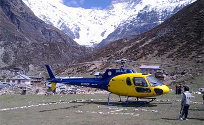Langtang valley Helicopter tour 1 Day